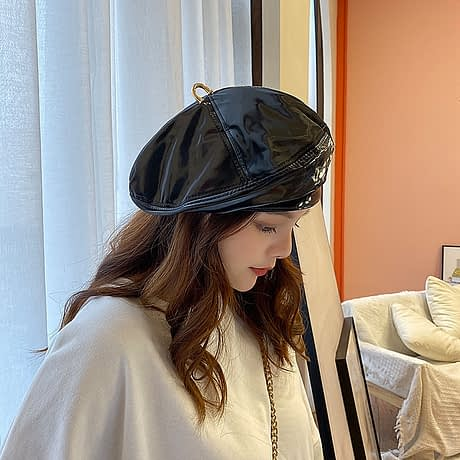 Fibonacci-2019-New-Brand-Quality-Patent-Leather-Beret-Hat-Four-Panels-Fashion-Women-Cap-Female-French-2.jpg