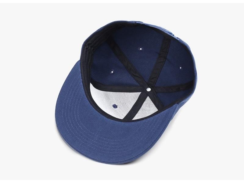 Polyester Cotton Unisex Hip Hop Cap, Simple Classic Caps 11