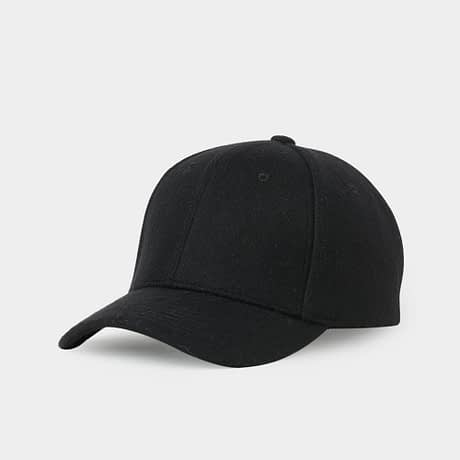 Brand NUZADA Autumn Winter Keep Warm Snapback Bone Men Women Baseball Caps Hats Cap Simpl Color Black Grey Woolen 2