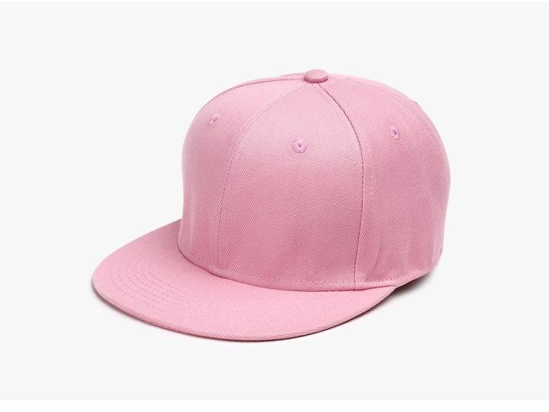 Polyester Cotton Unisex Hip Hop Cap, Simple Classic Caps 4