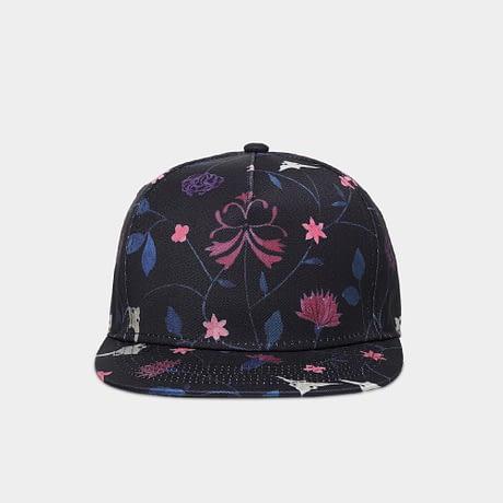 Unisex 3D Printing Hip Hop Cap, Fashion Design Flowers Polyester Cotton Neutral Cap 1
