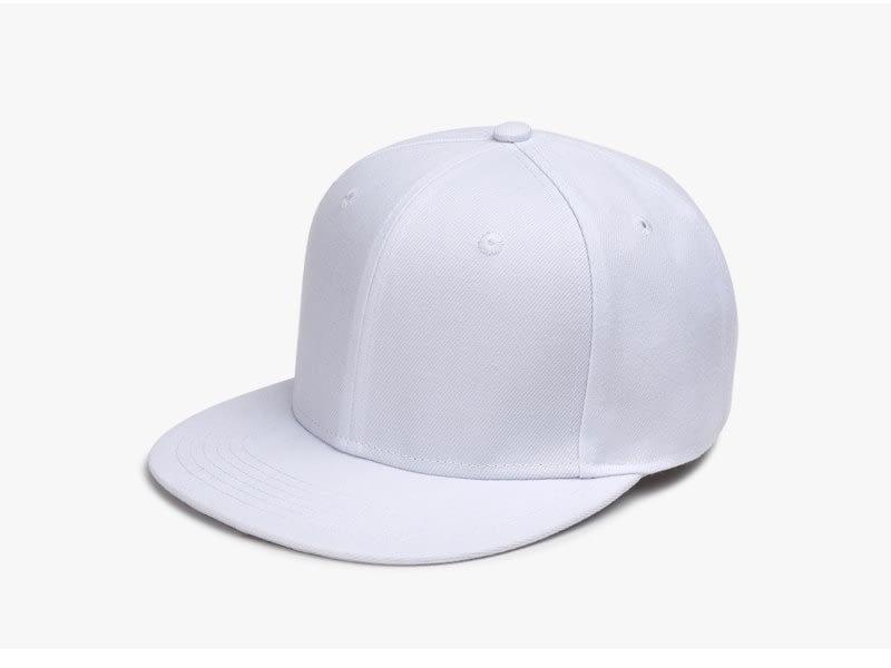 Polyester Cotton Unisex Hip Hop Cap, Simple Classic Caps 5