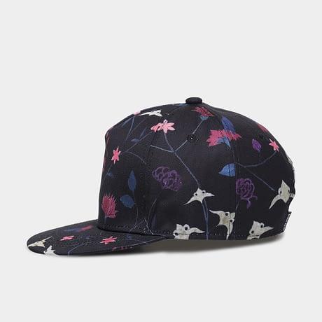 Unisex 3D Printing Hip Hop Cap, Fashion Design Flowers Polyester Cotton Neutral Cap 2