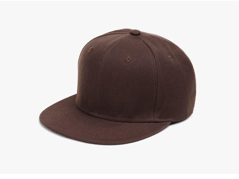 Polyester Cotton Unisex Hip Hop Cap, Simple Classic Caps 3