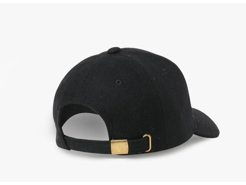 Brand NUZADA Autumn Winter Keep Warm Snapback Bone Men Women Baseball Caps Hats Cap Simpl Color Black Grey Woolen 4
