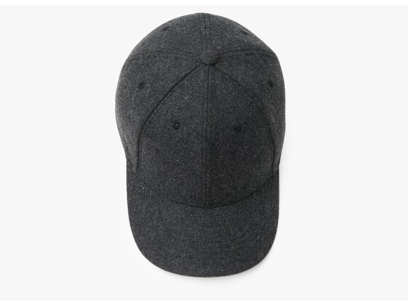 Brand NUZADA Autumn Winter Keep Warm Snapback Bone Men Women Baseball Caps Hats Cap Simpl Color Black Grey Woolen 13