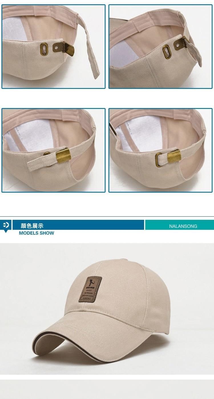 Men's New Cap Baseball Cap, Snapback Cap, Adjustable Hat 123