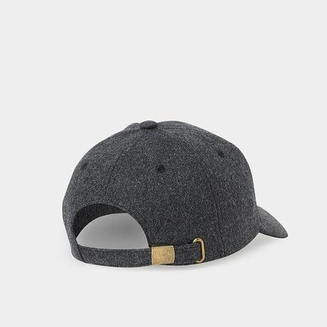 Brand NUZADA Autumn Winter Keep Warm Snapback Bone Men Women Baseball Caps Hats Cap Simpl Color Black Grey Woolen 3
