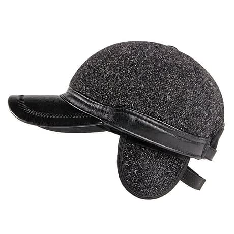 Fibonacci-Autumn-Winter-Men-Baseball-Caps-Wool-Nylon-Faux-Leather-Brim-Ear-Flap-Dad-Hats-Snapback-1.jpg