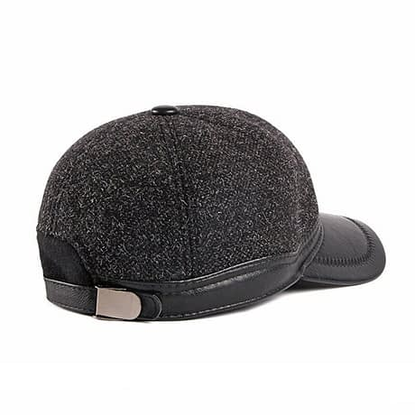 Fibonacci-Autumn-Winter-Men-Baseball-Caps-Wool-Nylon-Faux-Leather-Brim-Ear-Flap-Dad-Hats-Snapback-2.jpg
