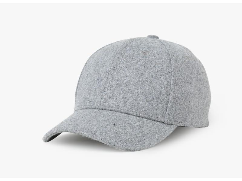 Brand NUZADA Autumn Winter Keep Warm Snapback Bone Men Women Baseball Caps Hats Cap Simpl Color Black Grey Woolen 6