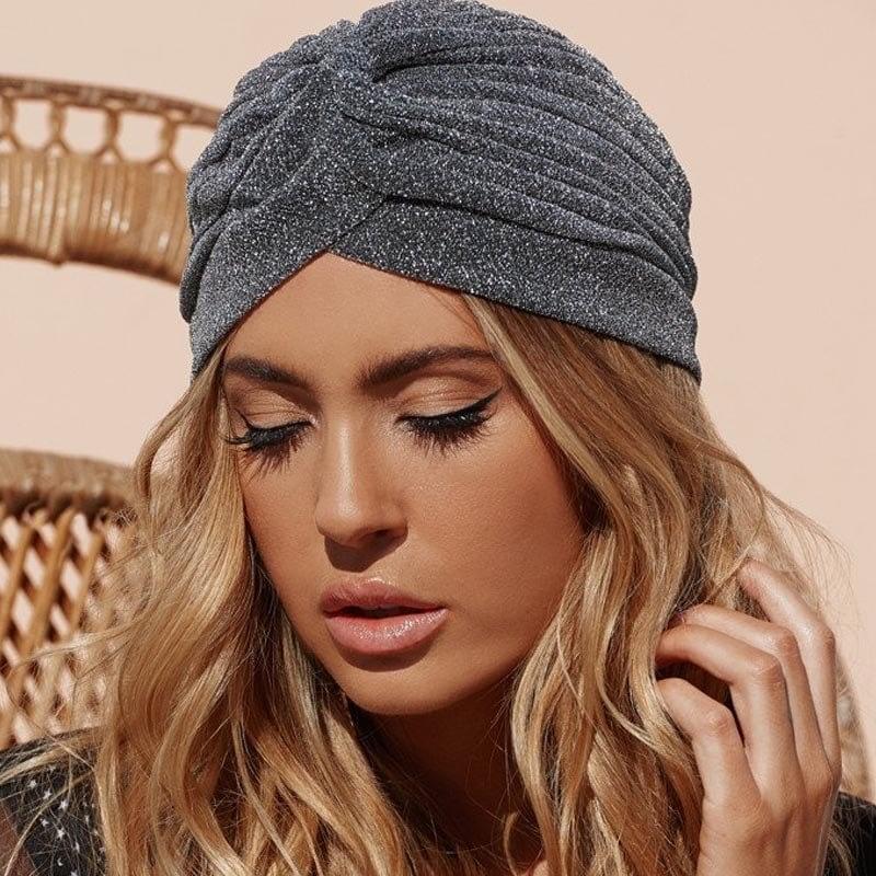 Knitted Knot Turban Cap, Women's Winter Warm Skullies & Beanies 10