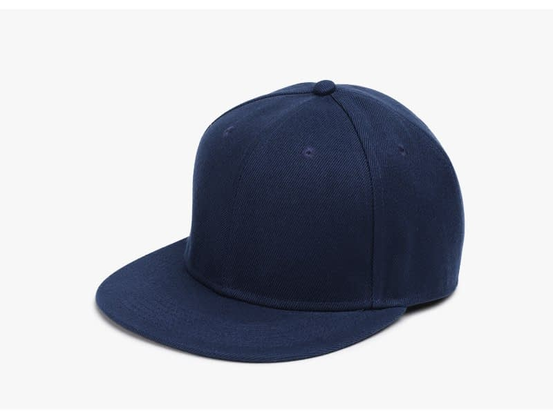 Polyester Cotton Unisex Hip Hop Cap, Simple Classic Caps 8