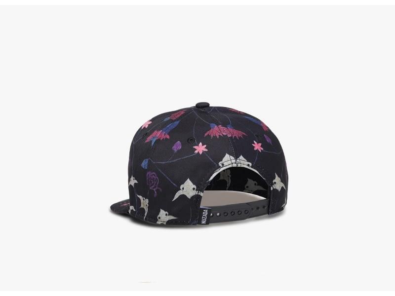 Unisex 3D Printing Hip Hop Cap, Fashion Design Flowers Polyester Cotton Neutral Cap 6