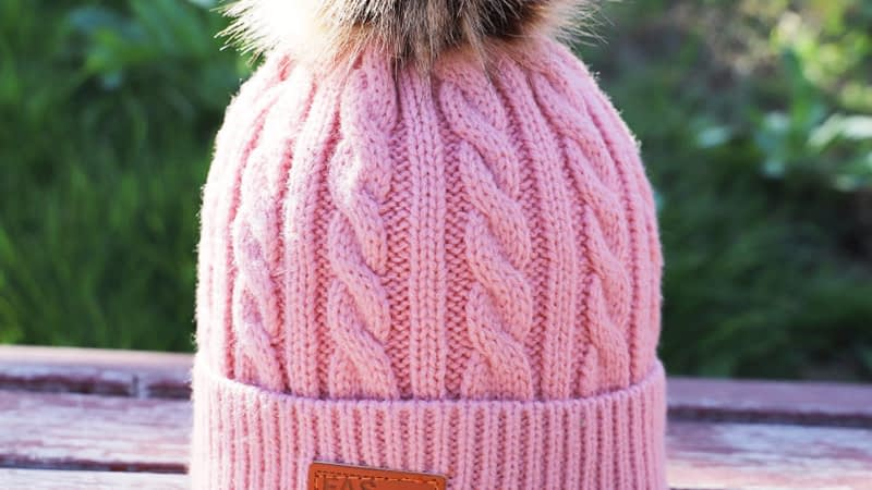 Children's Autumn, Winter Knitted Cotton Hat, Warm, Comfortable Solid Color Fashion Cap 12