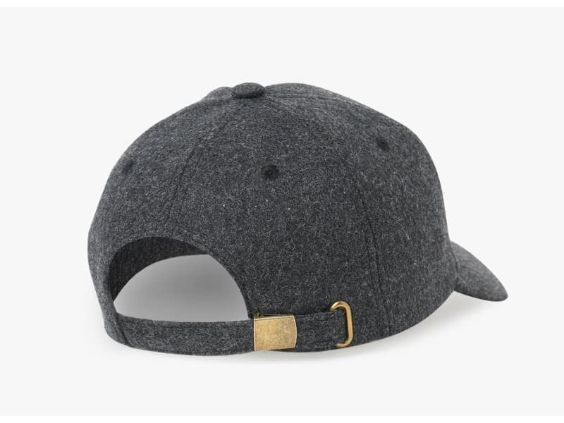 Brand NUZADA Autumn Winter Keep Warm Snapback Bone Men Women Baseball Caps Hats Cap Simpl Color Black Grey Woolen 14