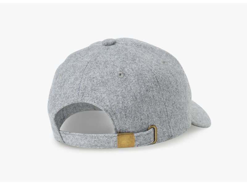Brand NUZADA Autumn Winter Keep Warm Snapback Bone Men Women Baseball Caps Hats Cap Simpl Color Black Grey Woolen 8