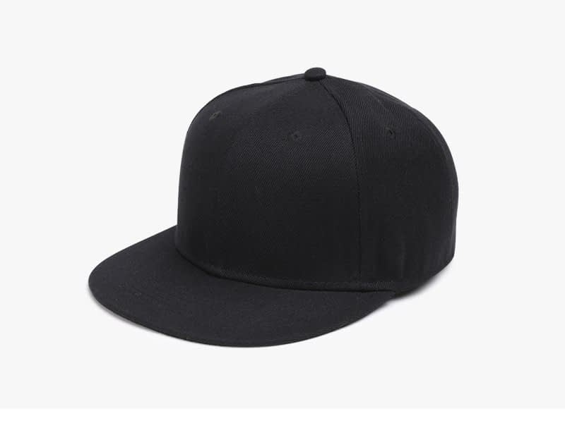 Polyester Cotton Unisex Hip Hop Cap, Simple Classic Caps 2