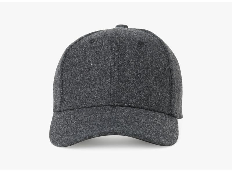 Brand NUZADA Autumn Winter Keep Warm Snapback Bone Men Women Baseball Caps Hats Cap Simpl Color Black Grey Woolen 10