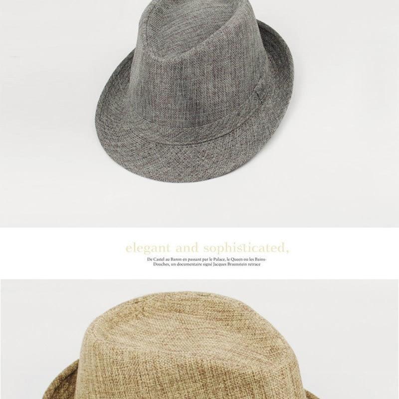 Pure Men's Brim Cap, English Classic Style, Formal Hat, Jazz Hat, Vintage Cap 127