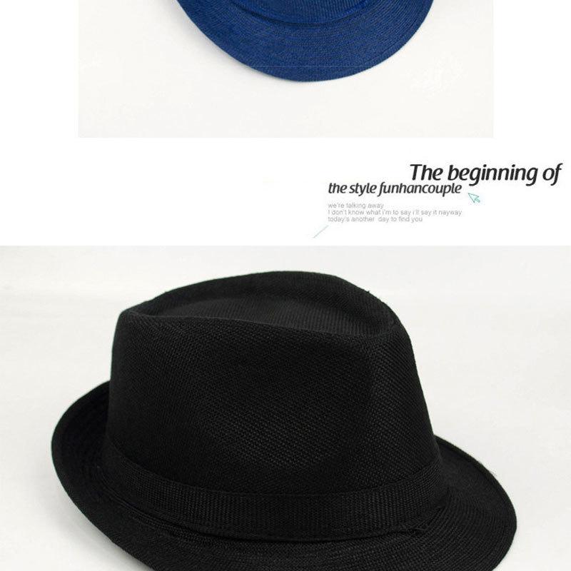 Pure Men's Brim Cap, English Classic Style, Formal Hat, Jazz Hat, Vintage Cap 125