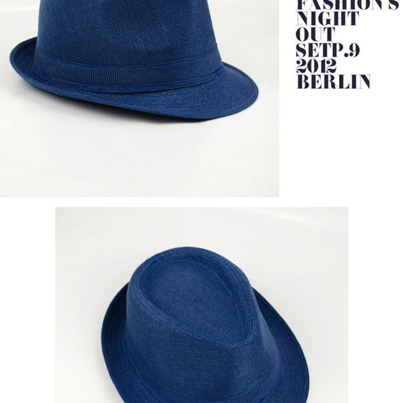 Pure Men's Brim Cap, English Classic Style, Formal Hat, Jazz Hat, Vintage Cap 124
