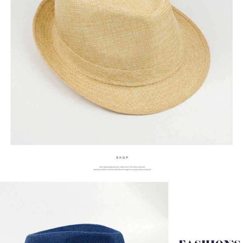 Pure Men's Brim Cap, English Classic Style, Formal Hat, Jazz Hat, Vintage Cap 123