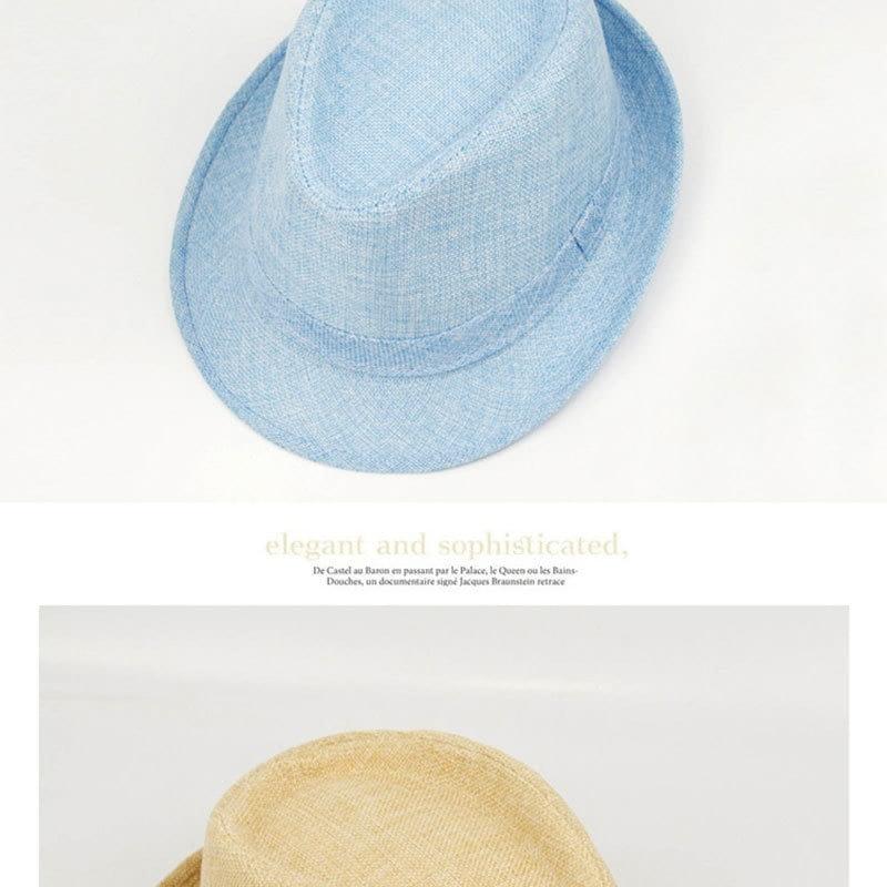 Pure Men's Brim Cap, English Classic Style, Formal Hat, Jazz Hat, Vintage Cap 122